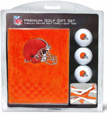 Cleveland Browns Embroidered Towel Gift Set