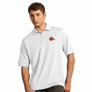 Cleveland Browns Mens Exceed Polo (Color: White)
