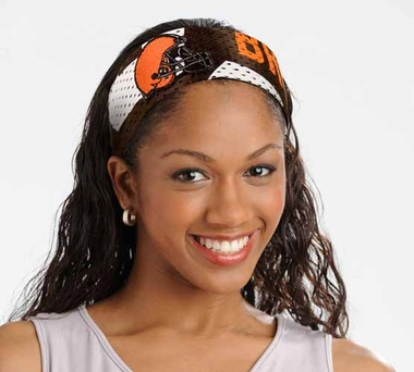 Cleveland Browns FanBand Hair Band
