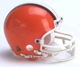 Cleveland Browns Football Helmet - Mini Replica