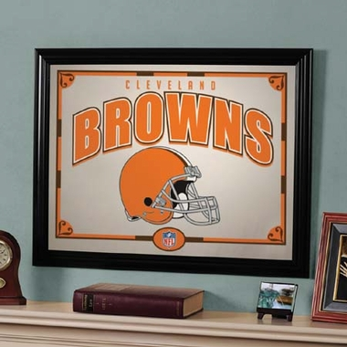 Cleveland Browns Framed Mirror