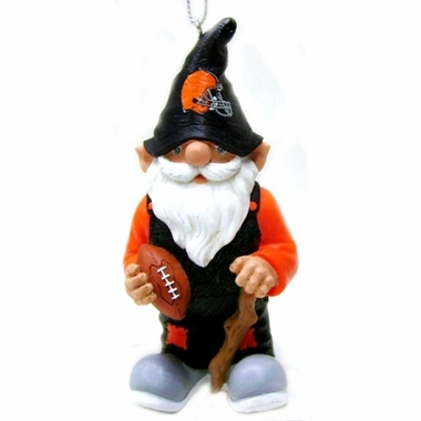 Cleveland Browns Gnome Christmas Ornament