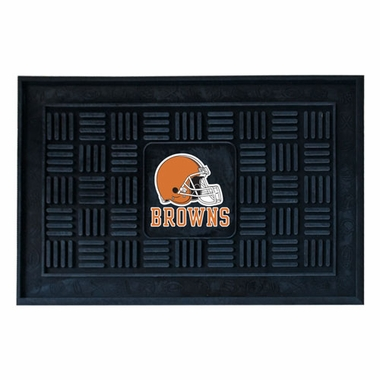 Cleveland Browns Heavy Duty Vinyl Doormat