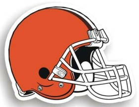 Cleveland Browns Individual Car Magnet