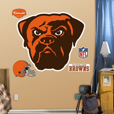 Cleveland Browns Logo Fathead Wall Graphic