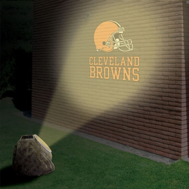 Cleveland Browns Logo Projection Rock