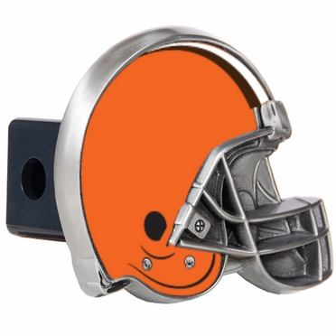 Cleveland Browns Metal Helmet Trailer Hitch Cover