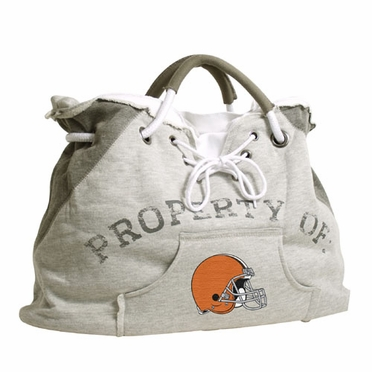 Cleveland Browns Property of Hoody Tote