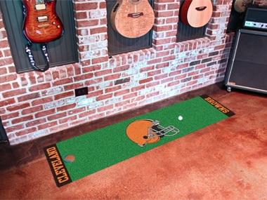 Cleveland Browns Putting Green Mat