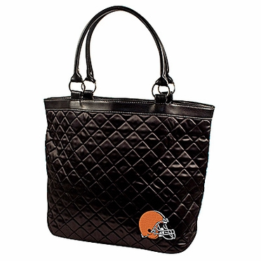 Cleveland Browns Quilted Tote