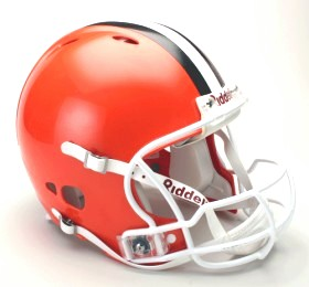 Cleveland Browns Riddell Full Size Authentic Revolution Helmet