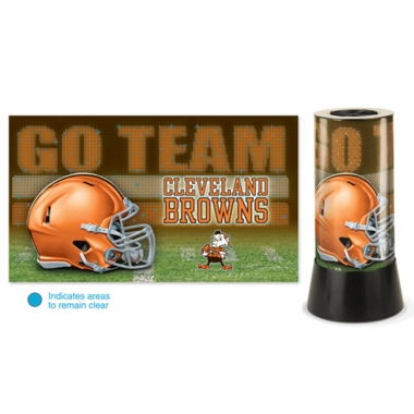 Cleveland Browns Rotating Lamp