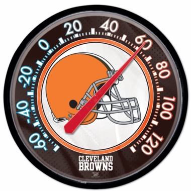 Cleveland Browns Round Wall Thermometer