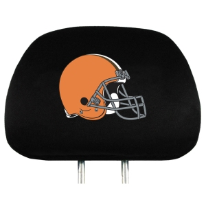 Cleveland Browns Set of Headrest Covers