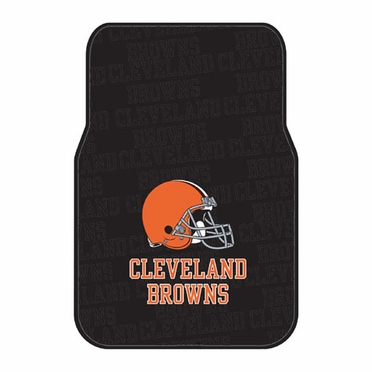 Cleveland Browns Set of Rubber Floor Mats
