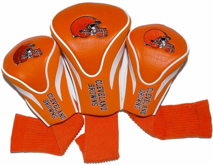 Cleveland Browns Set of Three Contour Headcovers