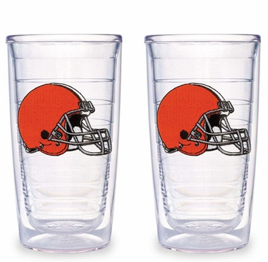 Cleveland Browns Set of TWO 16 oz. Tervis Tumblers