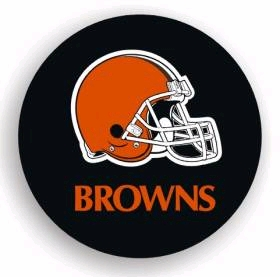 Cleveland Browns Black Tire Cover - Standard Size