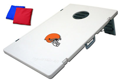 Cleveland Browns Tailgate Toss 2.0 Cornhole Beanbag Game