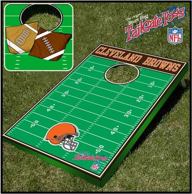 Cleveland Browns Tailgate Toss Cornhole Beanbag Game
