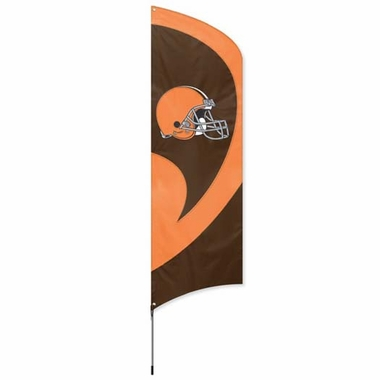 Cleveland Browns Tall Team Flag