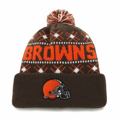 Cleveland Browns Tip Off Cuffed Knit Hat