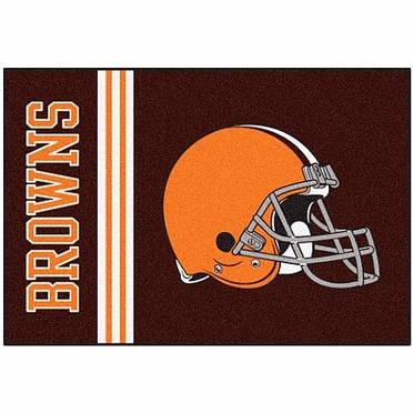 Cleveland Browns Uniform Inspired 20 x 30 Rug