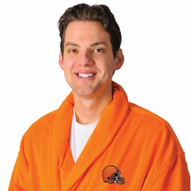 Cleveland Browns UNISEX Bath Robe (Team Color)