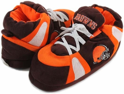 Cleveland Browns UNISEX High-Top Slippers