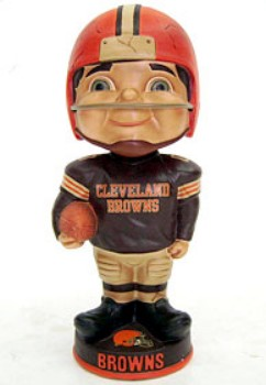 Cleveland Browns Vintage Retro Bobble Head