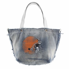 Cleveland Browns Vintage Tote (Denim)