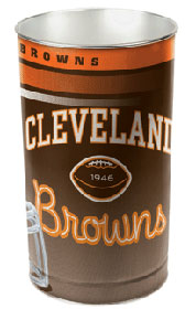 "Cleveland Browns 15"" Waste Basket"