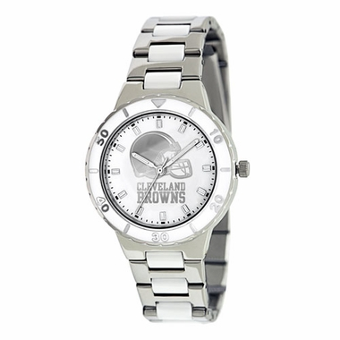 Cleveland Browns Women's Pearl Watch