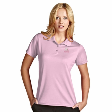 Cleveland Browns Womens Exceed Polo (Color: Pink)