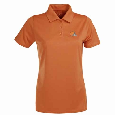 Cleveland Browns Womens Exceed Polo (Team Color: Orange)