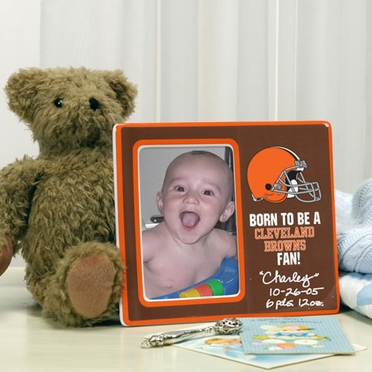 Cleveland Browns Youth Picture Frame