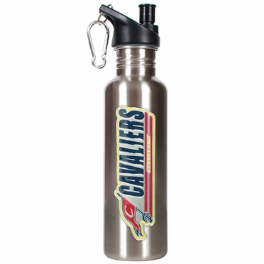 Cleveland Cavaliers 26oz Stainless Steel Water Bottle (Silver)