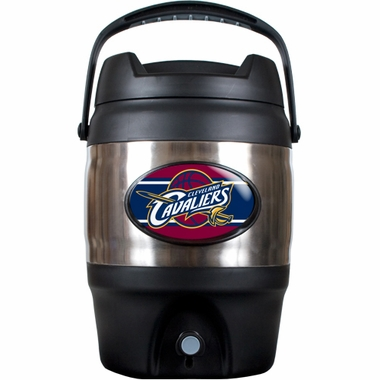 Cleveland Cavaliers 3 Gallon Stainless Steel Jug