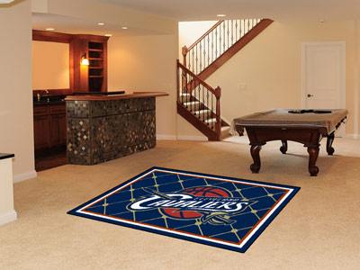 Cleveland Cavaliers 5 Foot x 8 Foot Rug