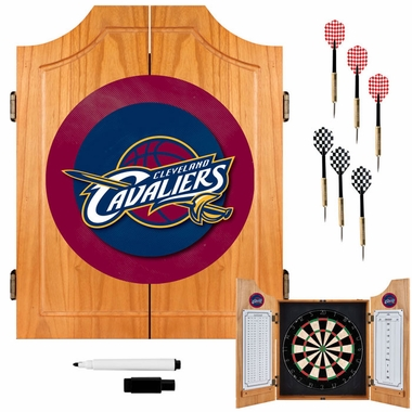 Cleveland Cavaliers Complete Dart Cabinet