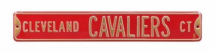 Cleveland Cavaliers Ct Street Sign
