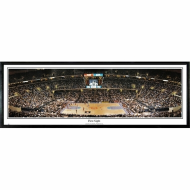 Cleveland Cavaliers First Night Framed Panoramic Print