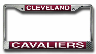 Cleveland Cavaliers Laser Etched Chrome License Plate Frame
