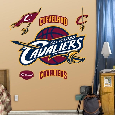 Cleveland Cavaliers Logo Fathead Wall Graphic