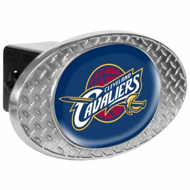 Cleveland Cavaliers Metal Diamond Plate Trailer Hitch Cover