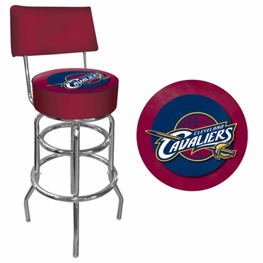 Cleveland Cavaliers Padded Bar Stool with Back