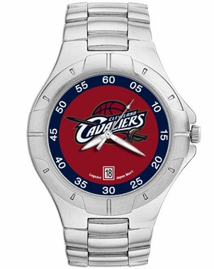 Cleveland Cavaliers Pro II Men's Stainless Steel Watch
