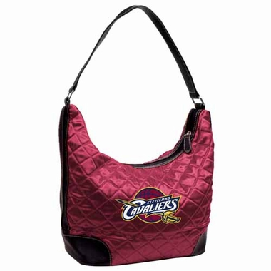 Cleveland Cavaliers Quilted Hobo Purse