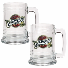 Cleveland Cavaliers Set of 2 15 oz. Tankards