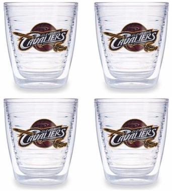 Cleveland Cavaliers Set of FOUR 12 oz. Tervis Tumblers
